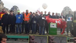 Mobilisation des agriculteurs à Paris