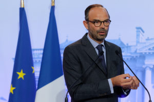Edouard Philippe, gouvernement