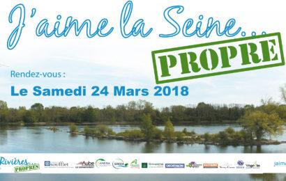 Rendez-vous le 24 mars pour rendre sa beauté à la Seine !