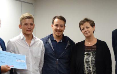 Quentin Bigard reçoit le 1er prix national