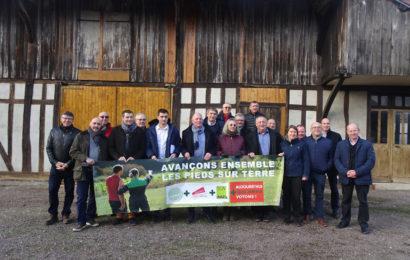 FDSEA, JA et SGV s'unissent pour l'agriculture auboise