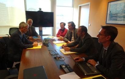 Troyes : le préfet en visite à la MSA
