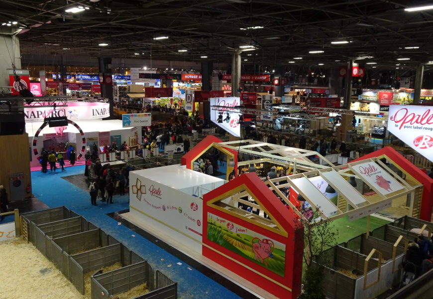 Le Salon international de l'agriculture, jusqu'au 3 mars