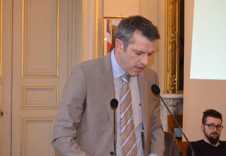 Maximin Charpentier, élu président de la Chambre d'agriculture régionale Grand Est