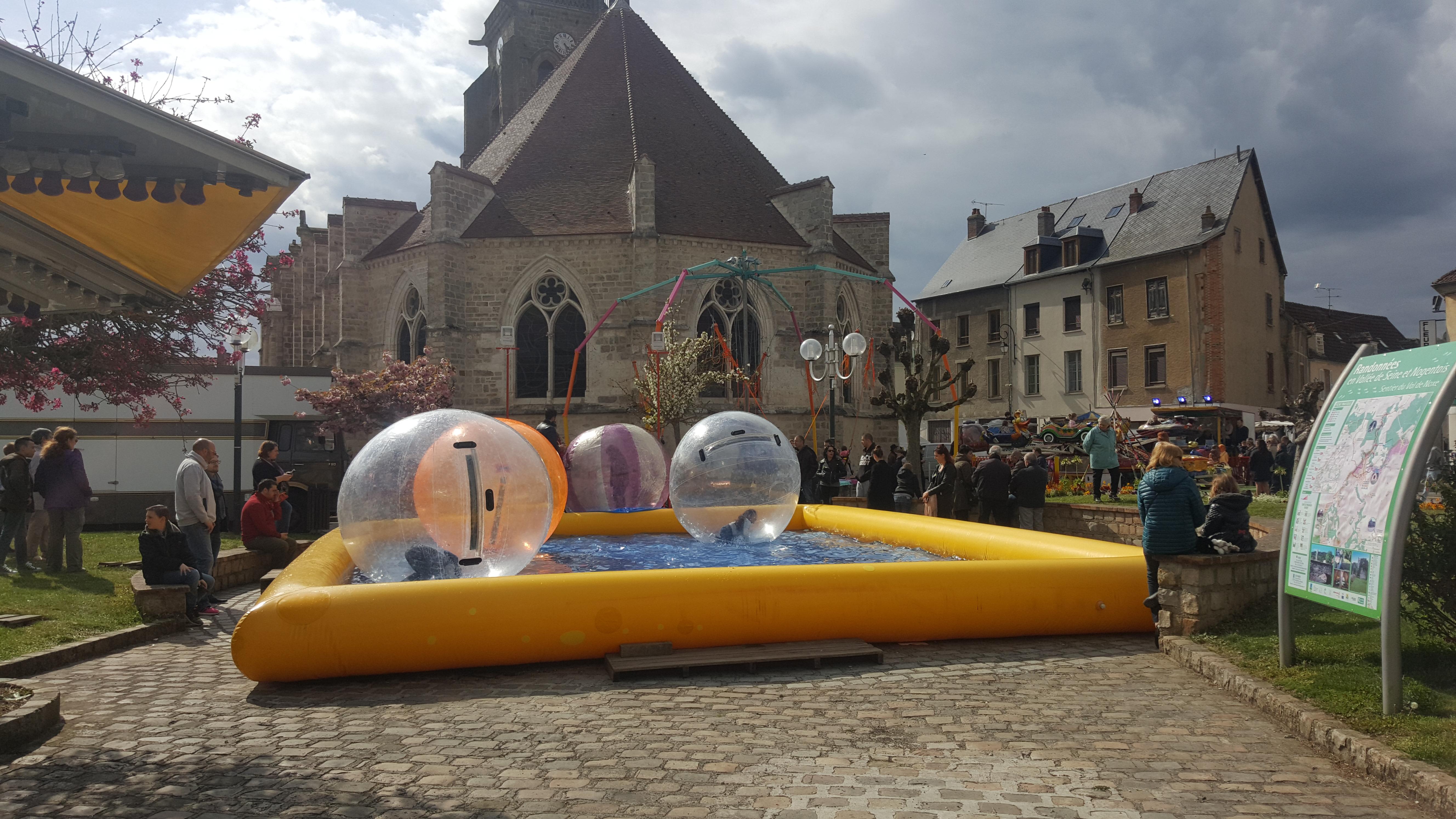 Villenauxe-la-Grande : une foire de Pâques sous le signe de l'agriculture