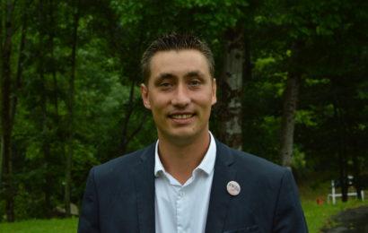 Samuel Vandaele, élu président du syndicat Jeunes Agriculteurs
