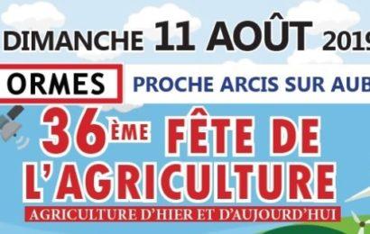La fête de l'agriculture le 11 août